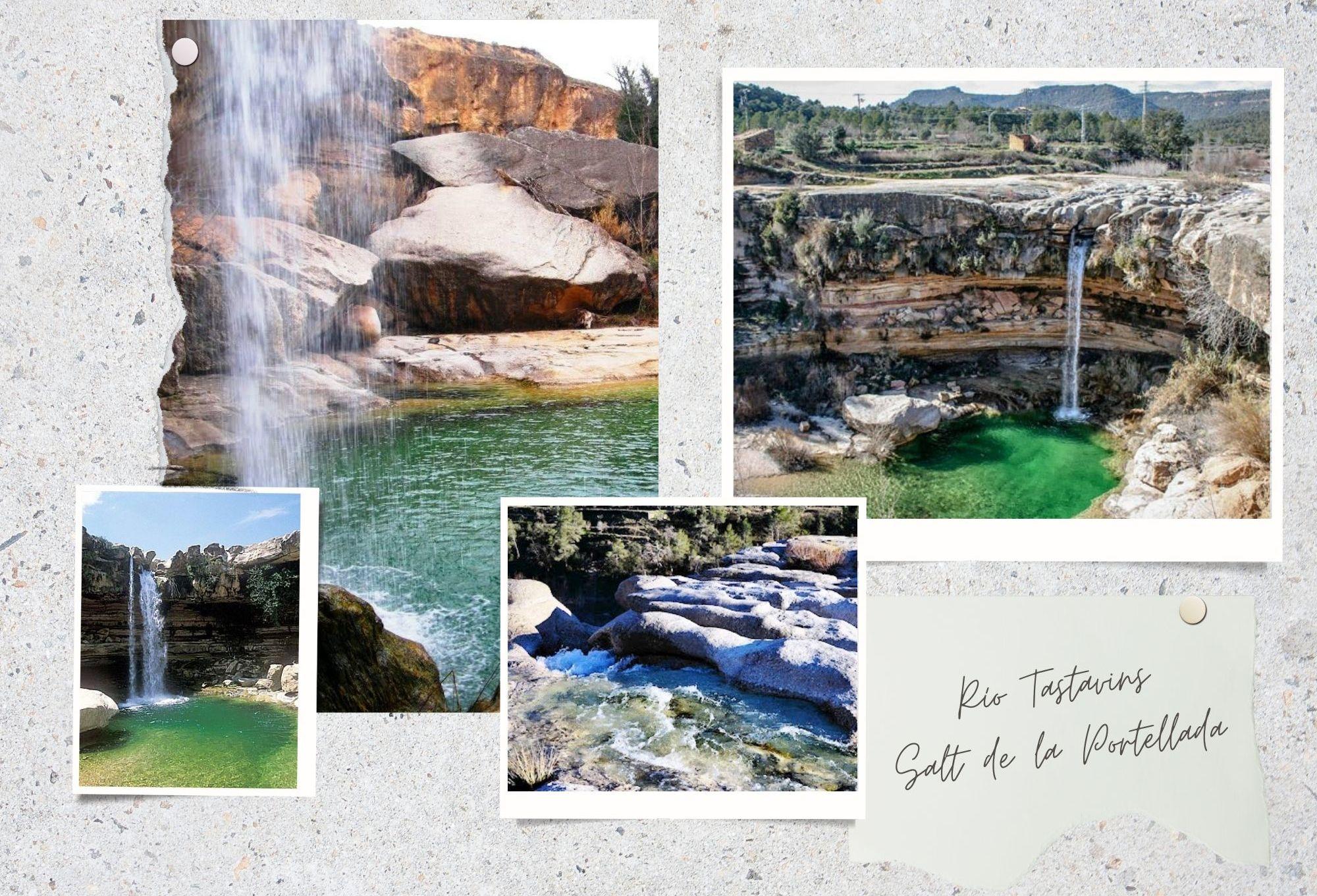Río Tastavins Salt de la Portellada